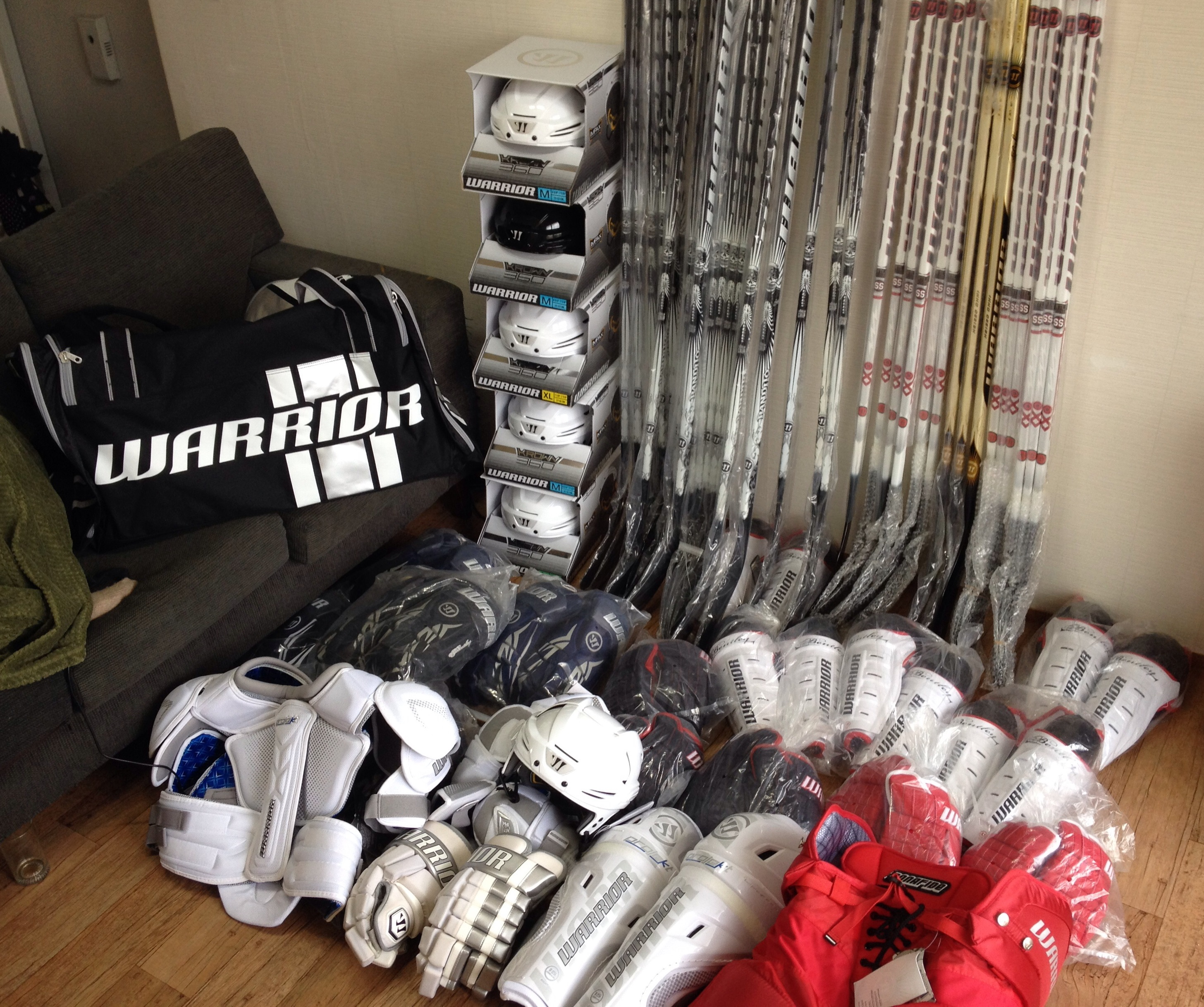 Warrior Is The Best Hockey Company Out There. Here's Why And It Has To Do With A Korean Island