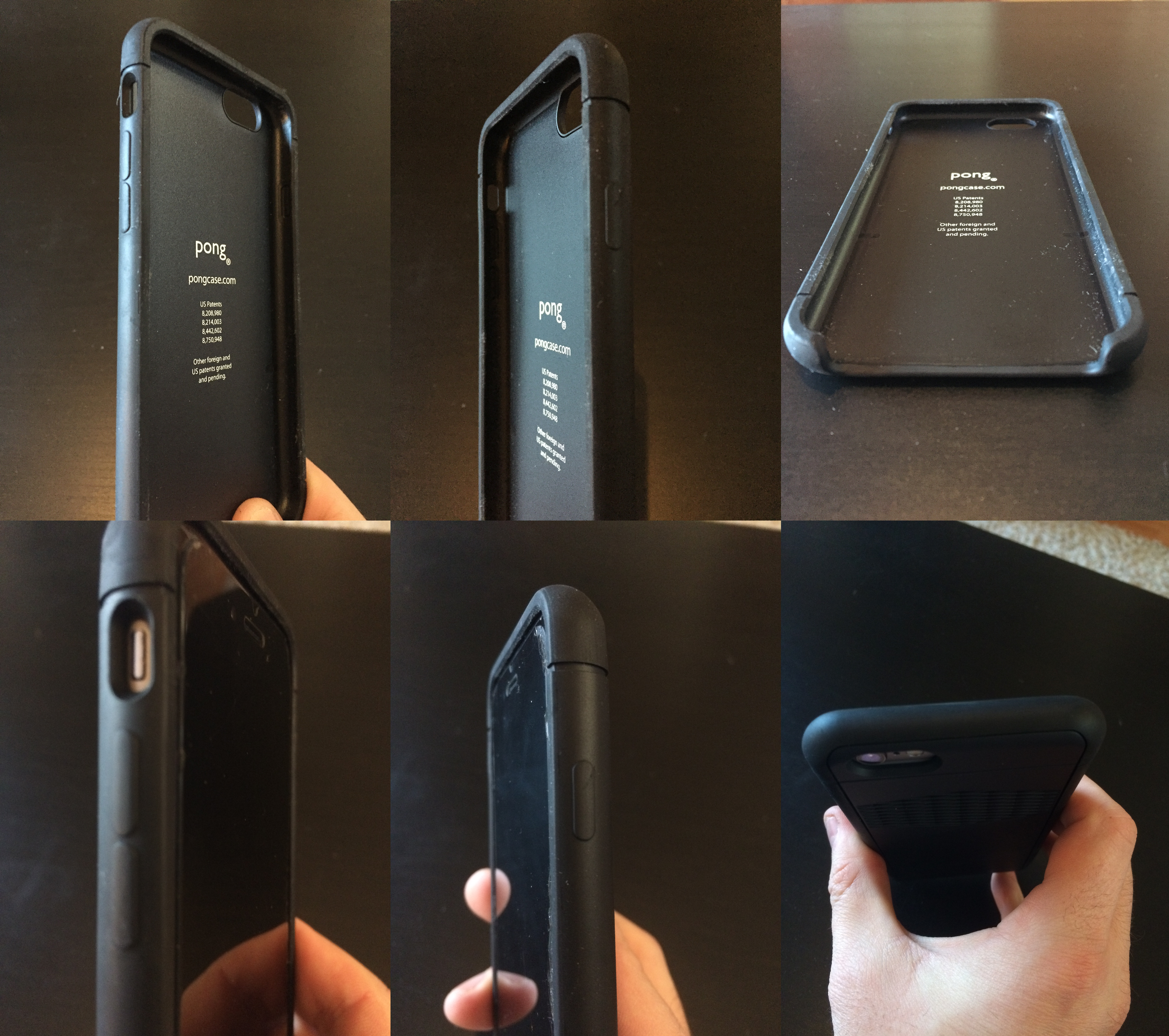 """eb3e05c16 360° view of Pong s """"Rugged"""" edition for iPhone 6"""
