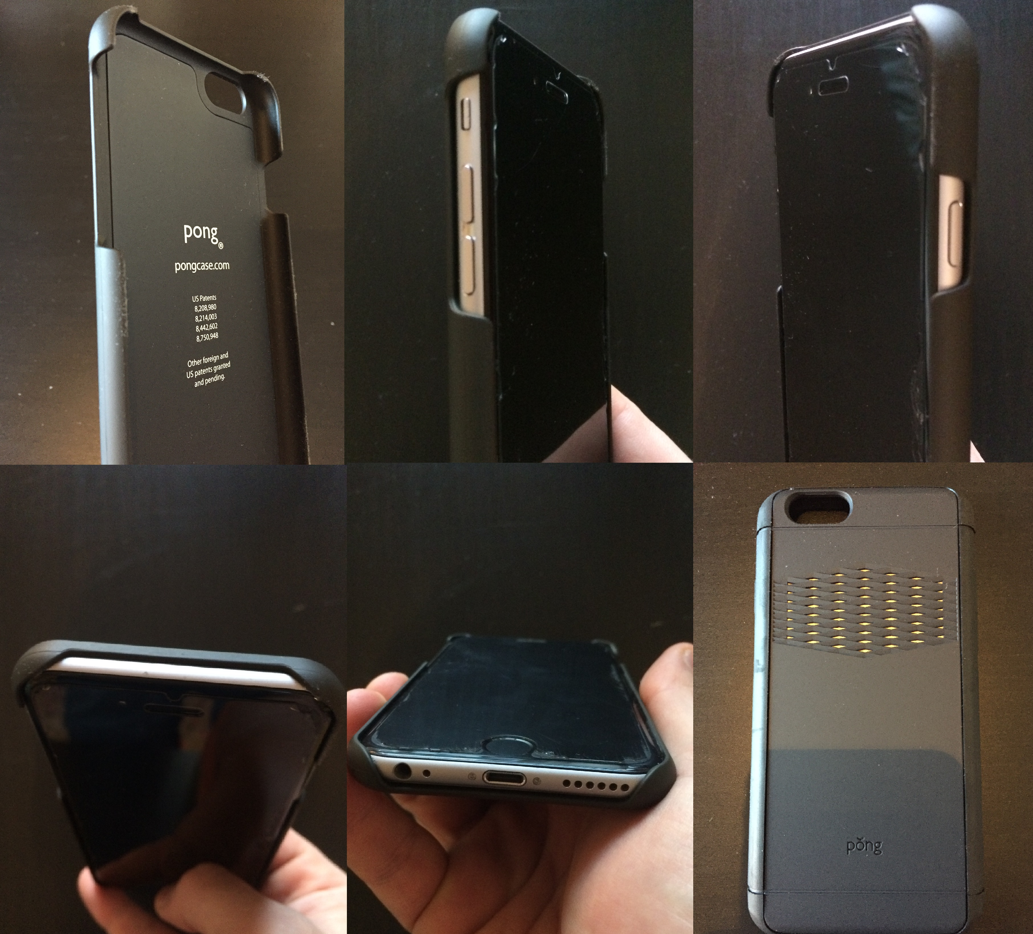 """79a5e214d 360° view of Pong s """"Sleek"""" edition for iPhone 6"""
